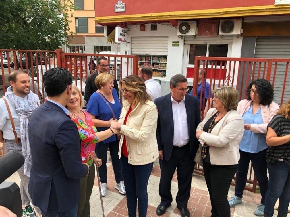 Acto del PSOE en la Asociación Granadina de Emigrantes Retornados