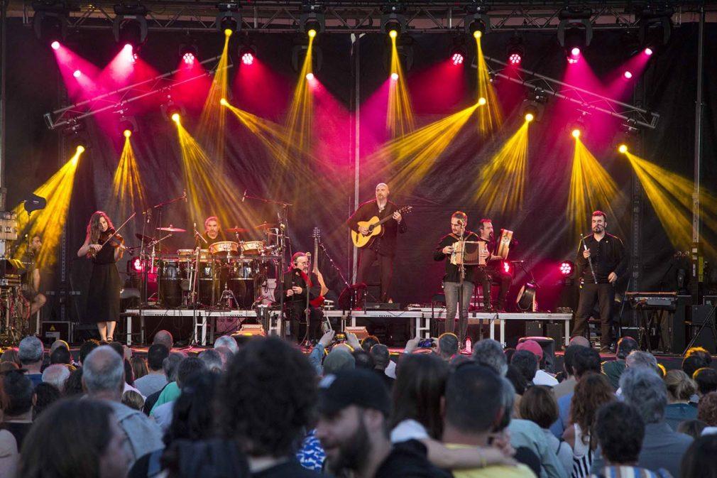 Luar Na Lubre es el grupo gallego más internacional. Foto Ricardo Argumosa
