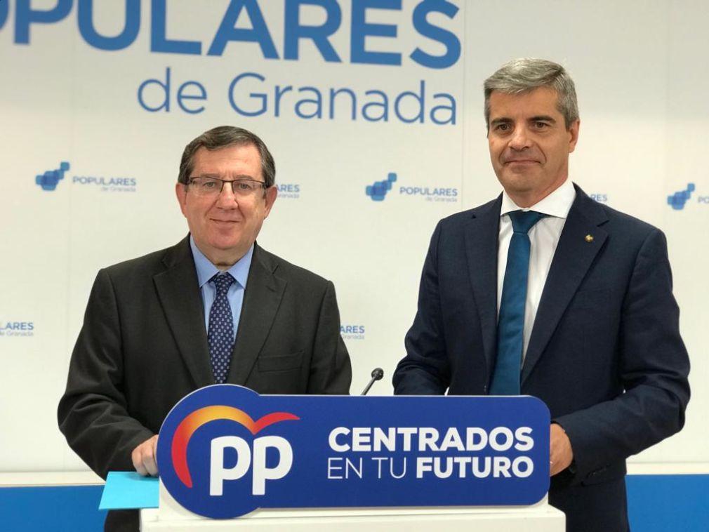 Luis González y César Díaz en balance de campaña 24.5.19