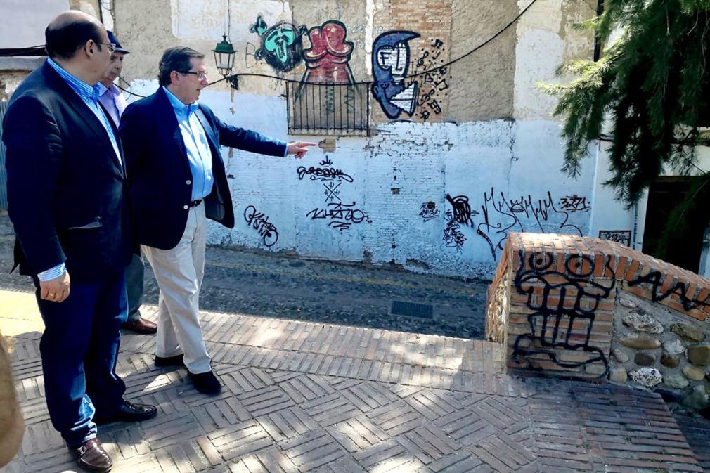 Pérez y González en el Huerto del Carlos