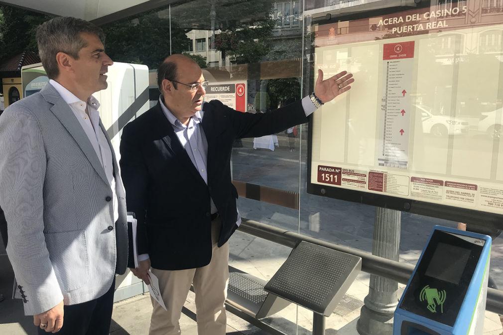 Sebastián Pérez y César Díaz.