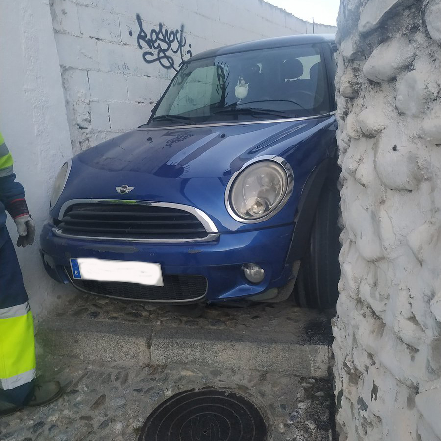coche atrapado