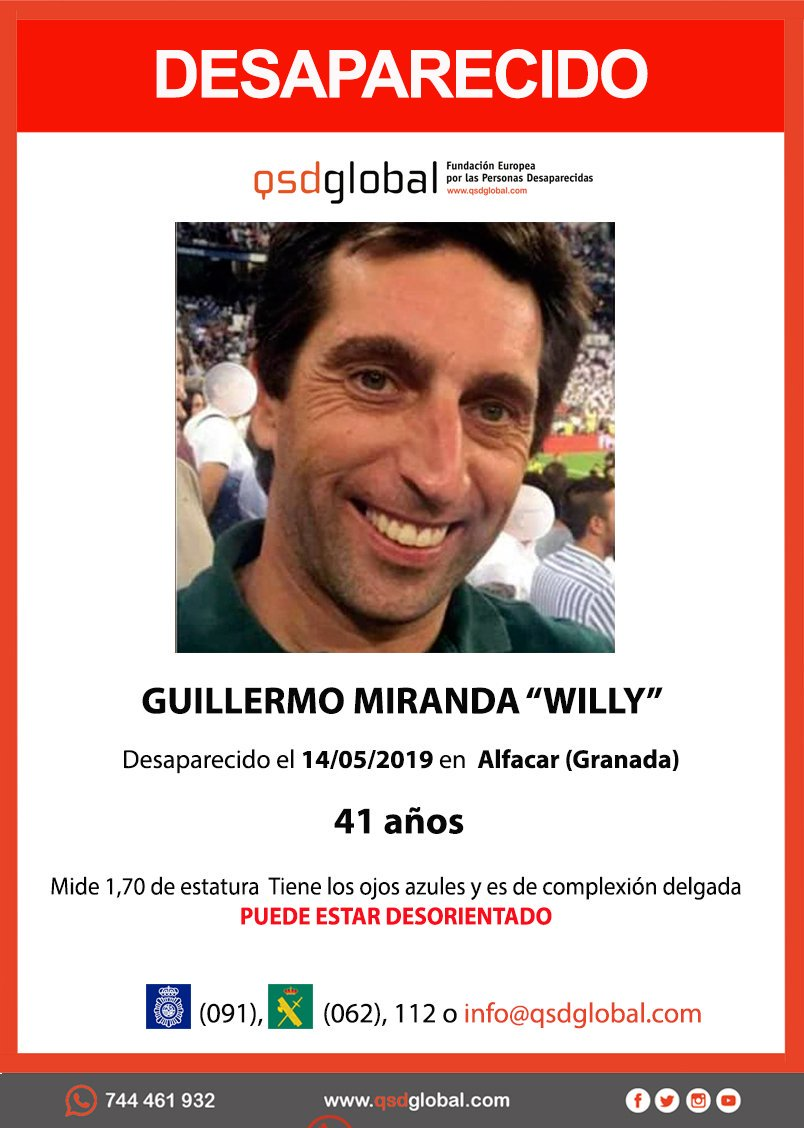 desaparecido alfacar willy