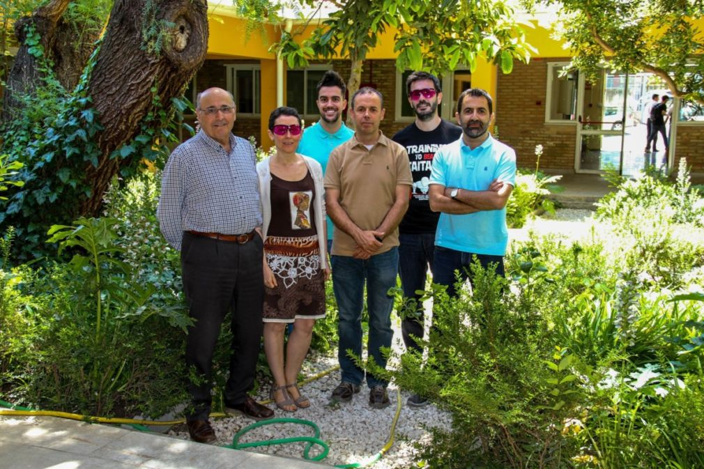 Grupo de investigadores de la UGR