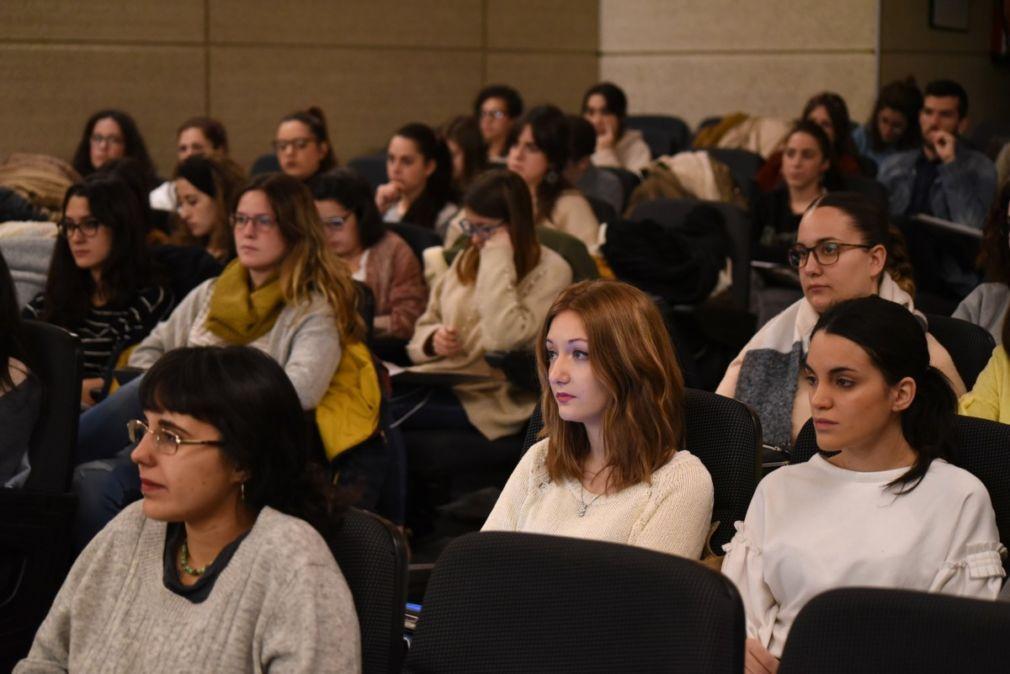 Participantes en el programa 'Progresa, jóvenes apoyando a jóvenes'