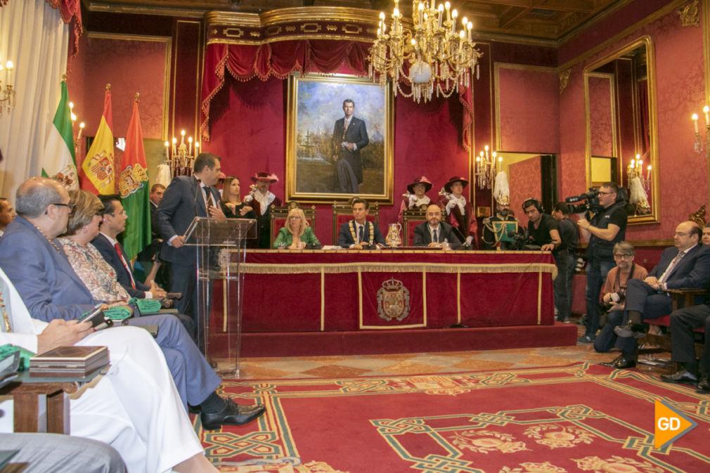 Pleno Investidura nuevo alcalde Granada 2019-2023 Dani B-9