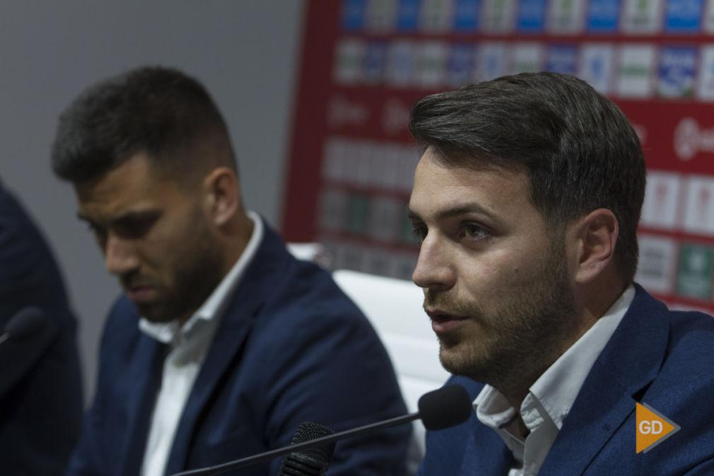Rueda de prensa de Federico Vico como jugador del Granada CF