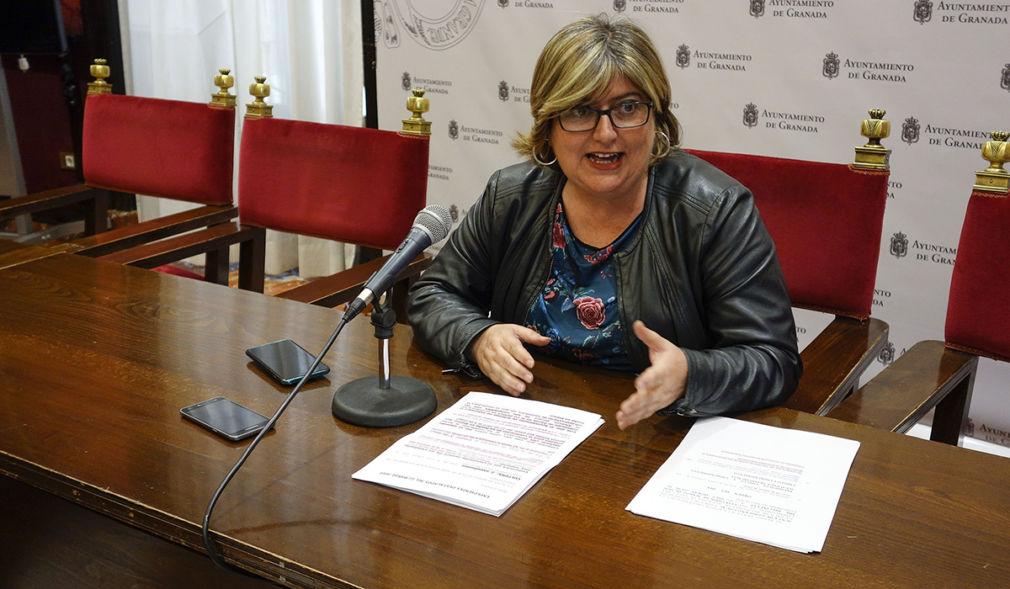 La primera teniente de alcalde de Granada, Ana Muñoz