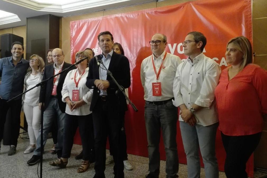 El alcalde de Granada y candidato del PSOE, Francisco Cuenca.