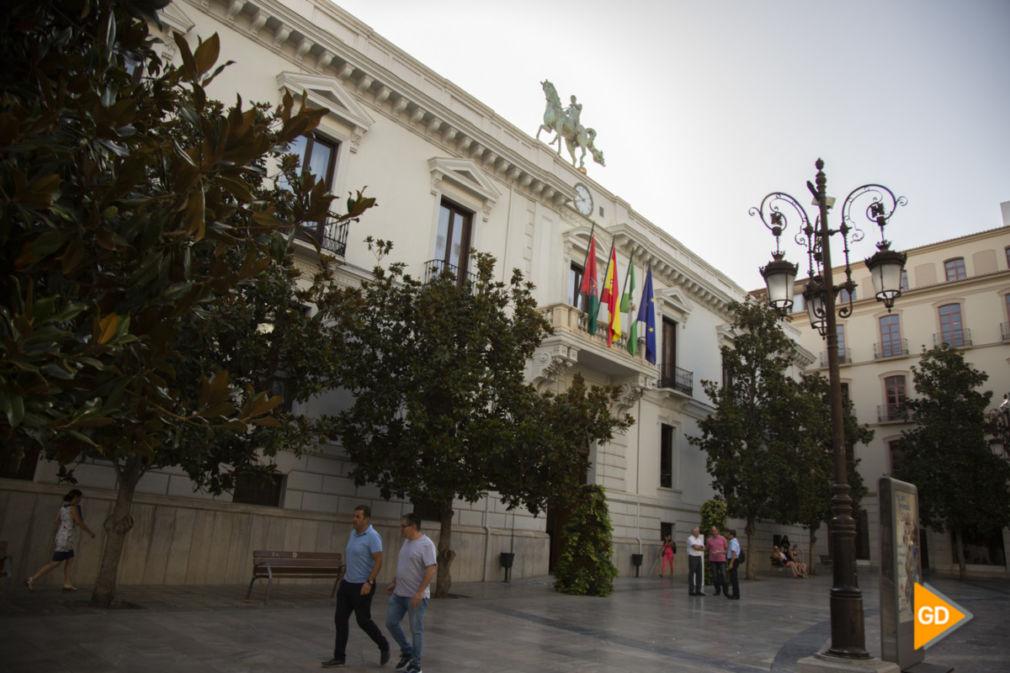 fachada ayuntamiento de Granada Foto Antonio L Juárez-1