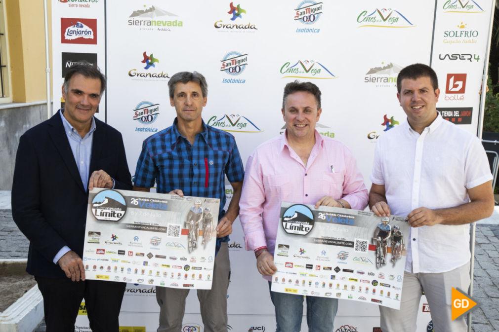 presentacion de la ruta cicloturista Granada limite