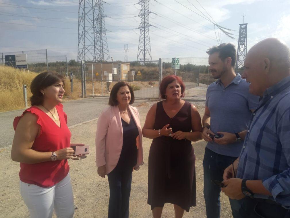 FOTO. PSOE Línea 400kv 20190826