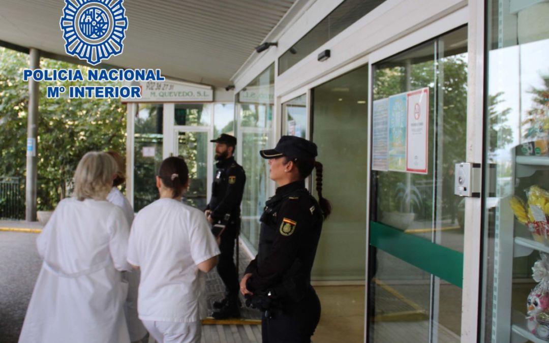 La Policía Nacional detiene a dos personas por agresiones cometidas en dos hospitales granadinos