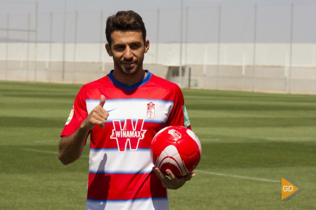 Presentación de Ismail Koybasi como nuevo jugador del Granada CF