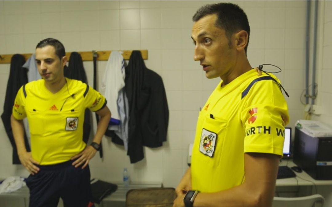 Sánchez Martínez arbitrará al Granada Club de Fútbol en su estreno liguero en casa
