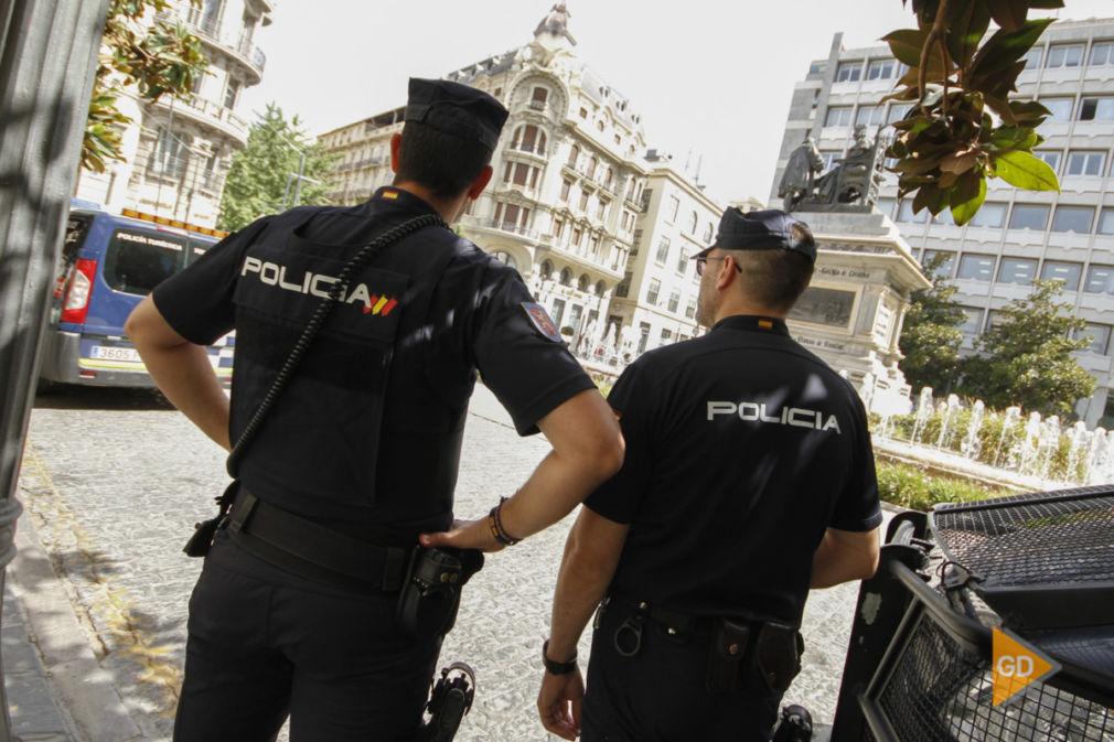 policia en Granada
