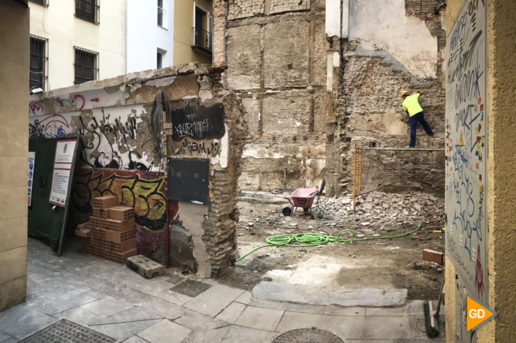Ruinas del bar La Sabanilla