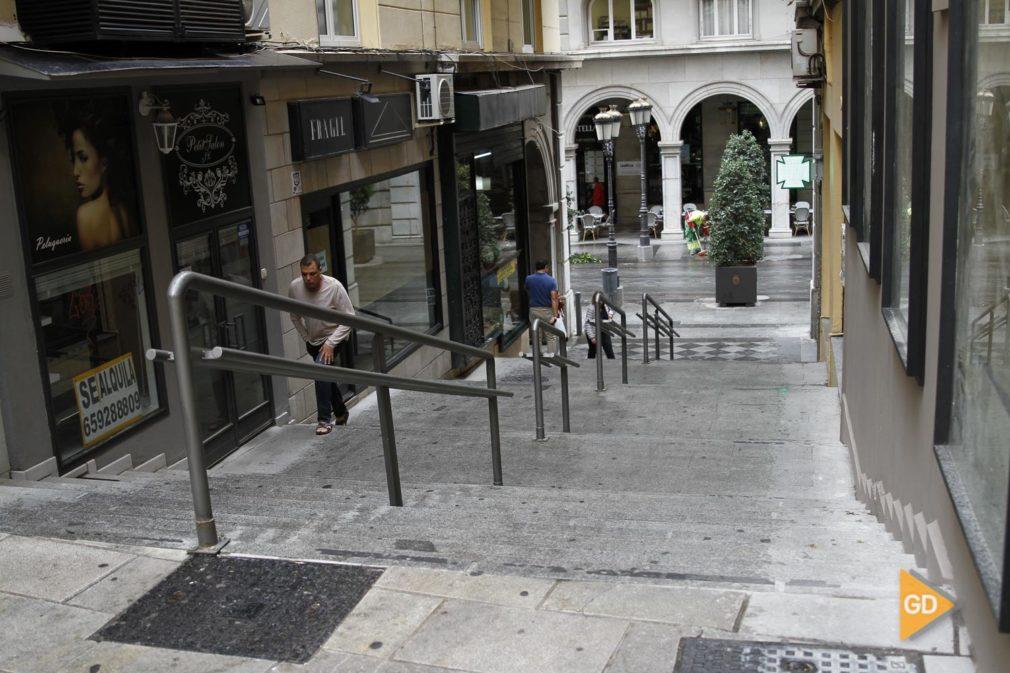 Calle Gozo y Pozo en Granada