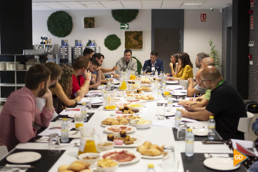 Desayuno informativo del Granada CF