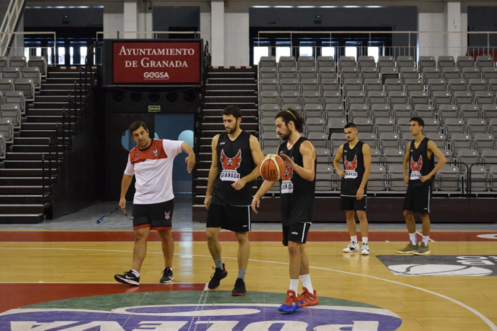 Entrenamiento Fundacion CB Granada 090919