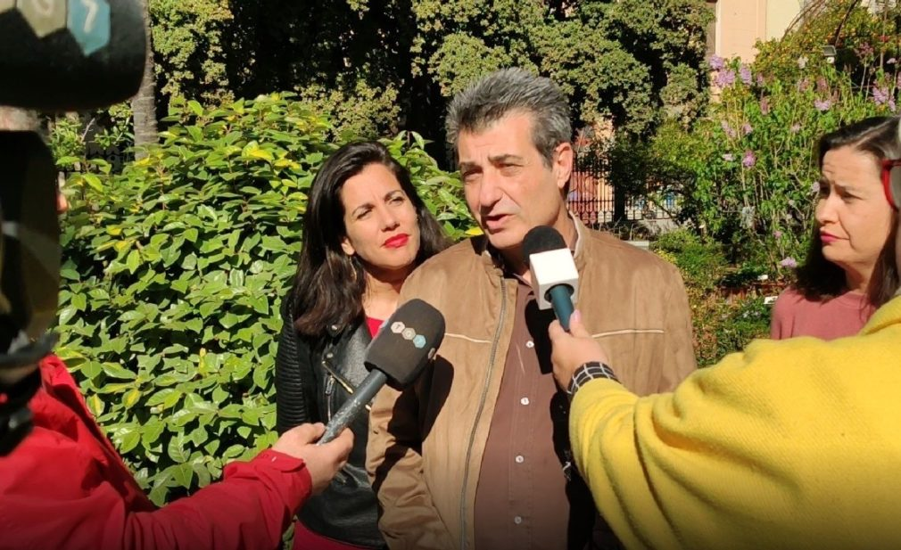 El candidato de Unidas Podemos a la Alcaldía, Antonio Cambril