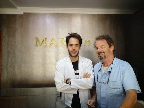 Los doctores David Landeira y Jan Tesarik