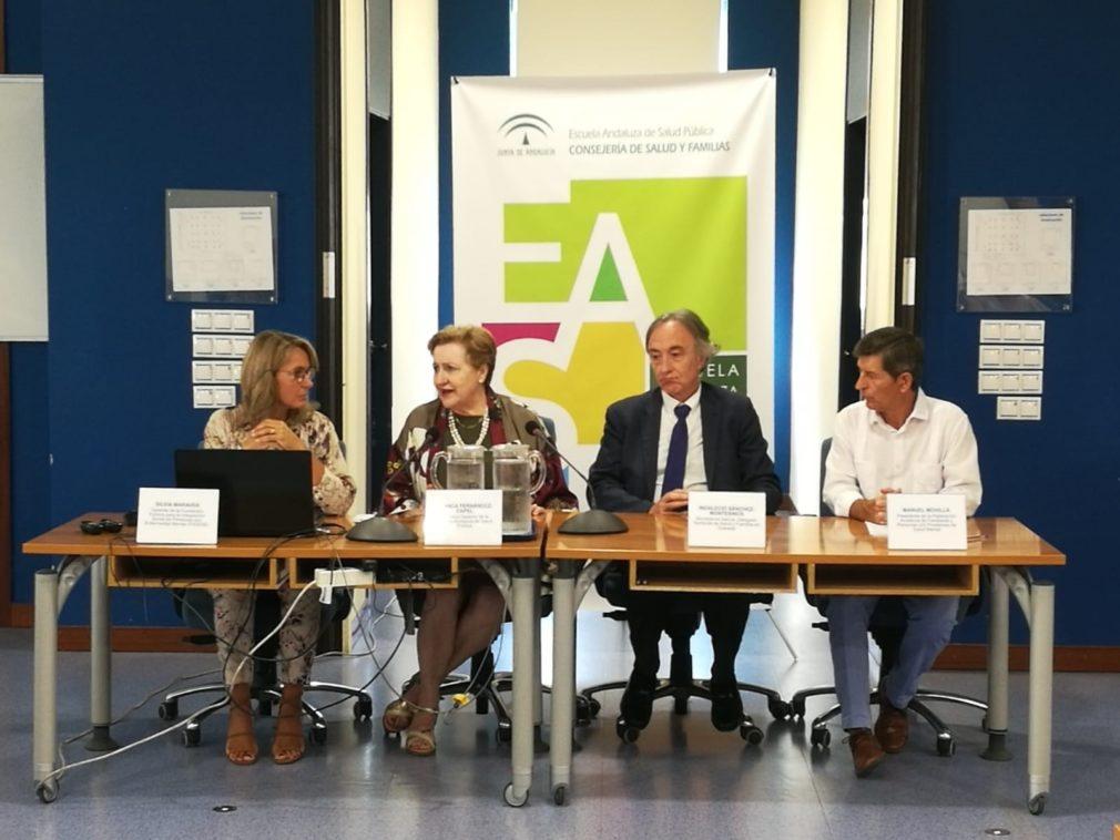 Taller de prevención del suicidio, en la Escuela Andaluza de Salud Pública