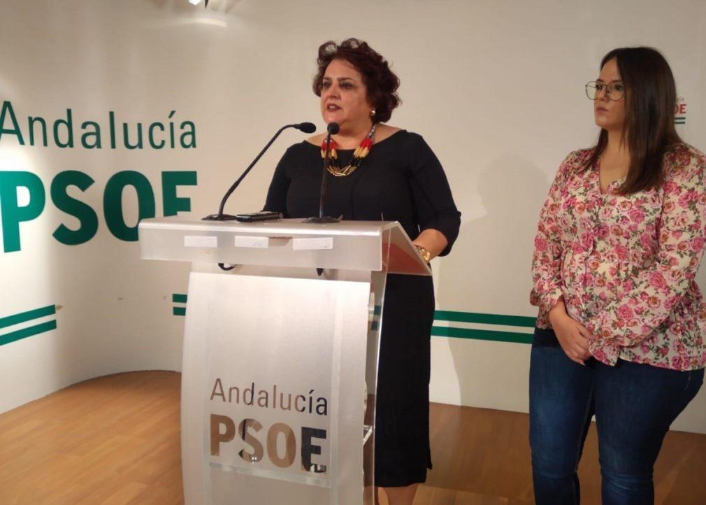 Teresa Jiménez y María Ramírez, en rueda de prensa