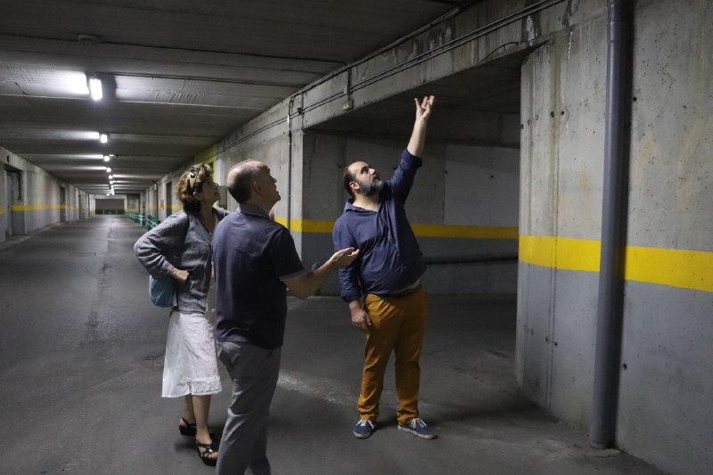 Garaje subterráneo de San Lázaro (1)