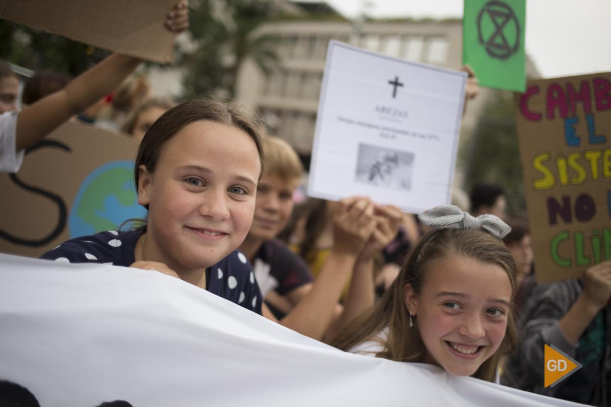 Manifestacion contra el cambio climatico en Granada
