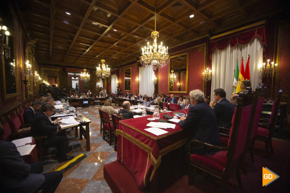 Pleno del ayuntamiento de Granada