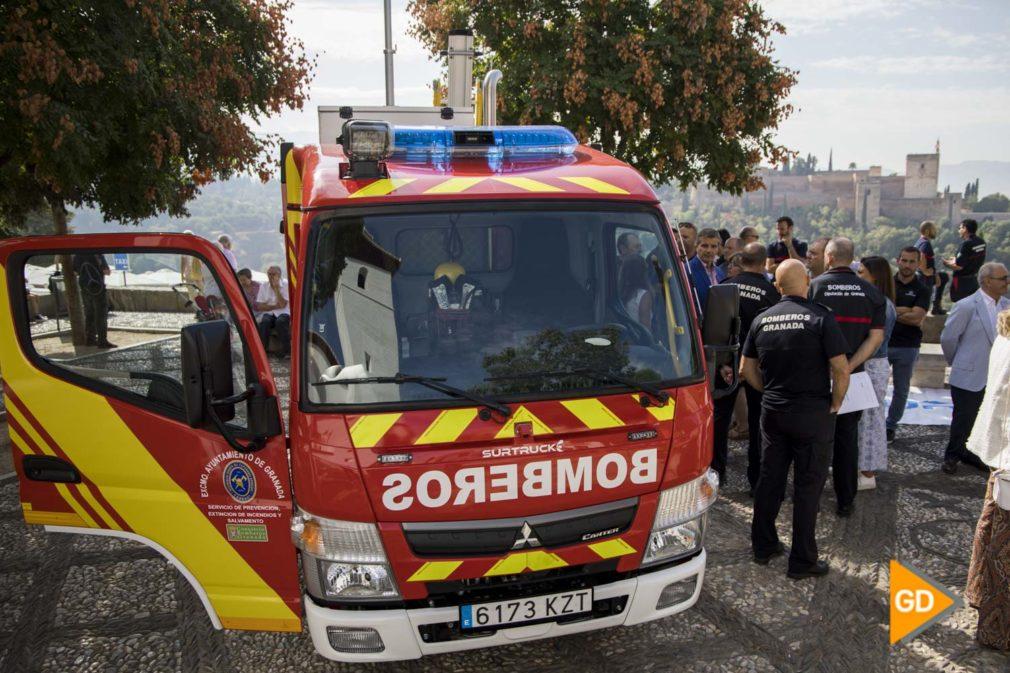 Presentación nuevos camiones de bomberos Mirador S.Nicolas - Sara Castaño-18