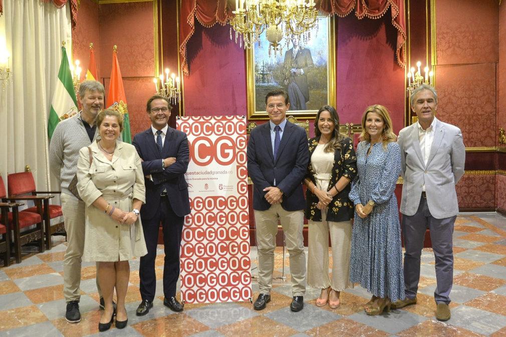 Presentación del concierto de inicio de temporada de la OCG en el Ayuntamiento de Granada
