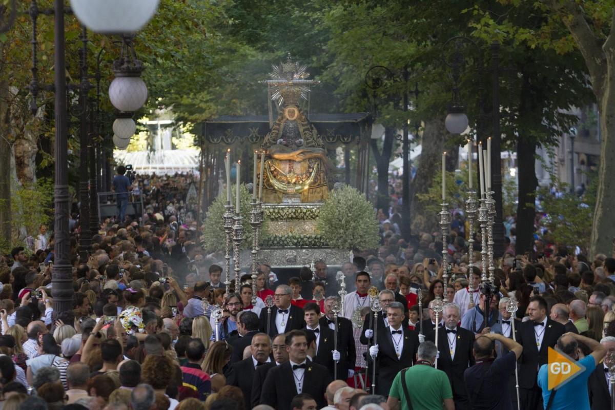 Procesion de la virgen de las Angustias de Granada