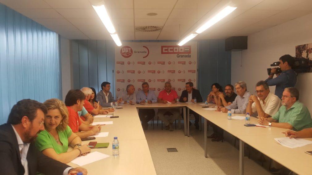 Reunión Mesa del Ferrocarril. Sede CCOO Granada (1)