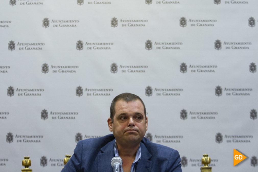 Rueda de prensa de Onofre Miralles