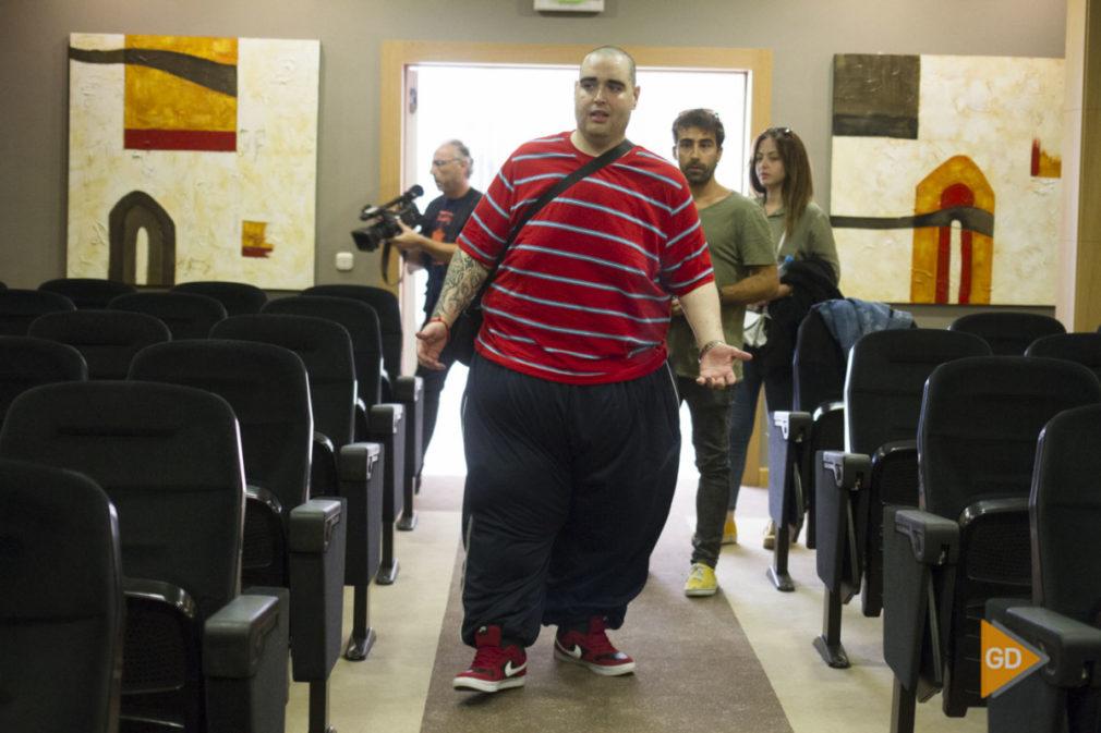 Rueda de prensa de Teo en su sesion de control tras la operacion de reduccion de peso
