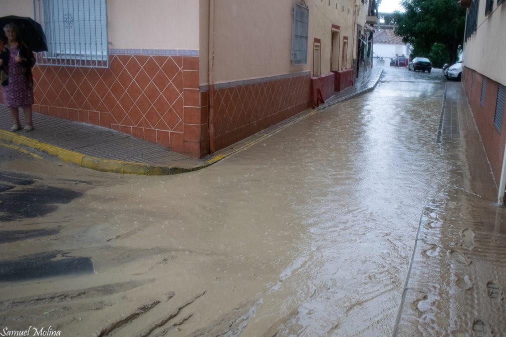 calle de las gabias inundacion