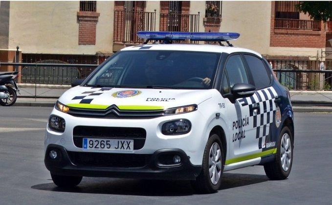 coche policia local granada