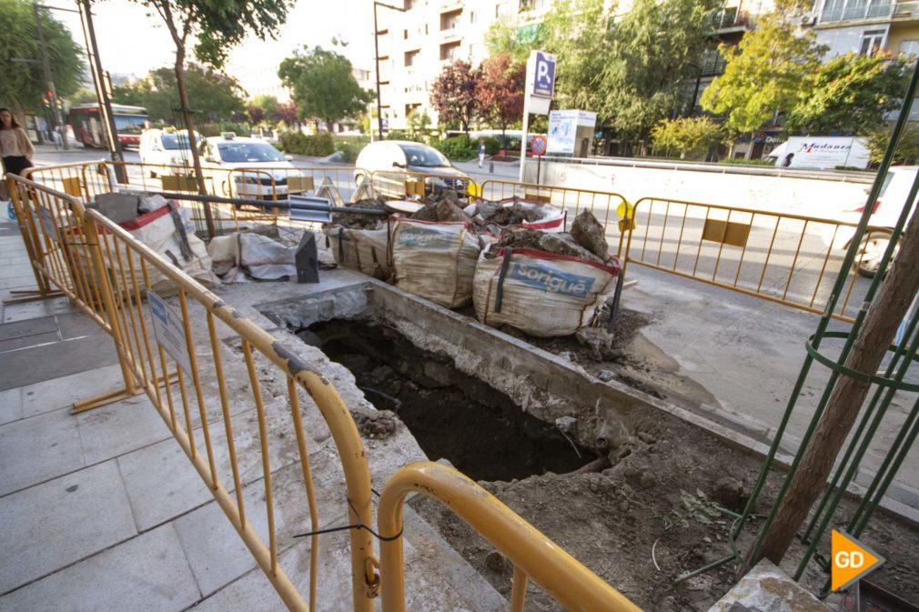 obras en Granada