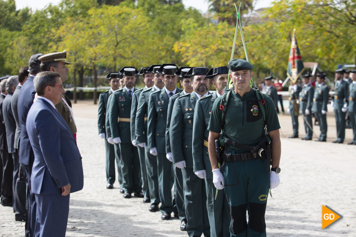 Actos por el 175 aniversario de la Guardia Civil en Granada