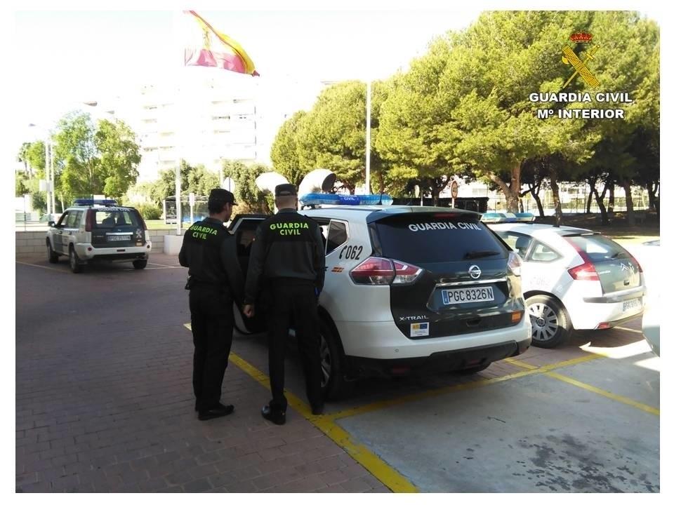 Agentes de la Guardai Civil