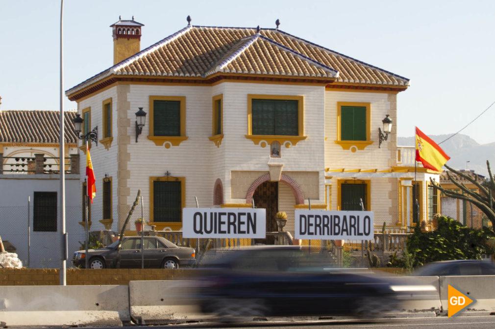 Finca que quieren derrumbar en Granada