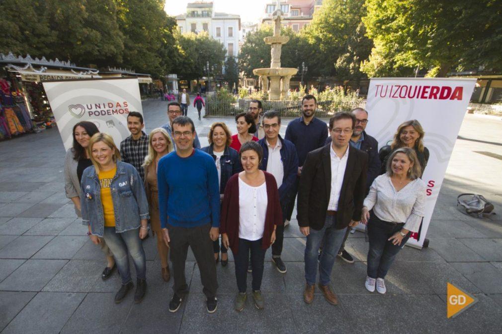 Presentación de candidaturas al Congreso y Senado de Unidas Podemos por Granada para las elecciones del 10N