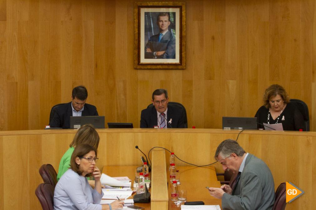 Pleno extraordinario de la Diputacion de Granada