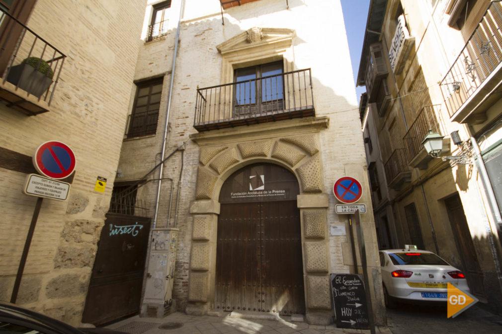 edificio de la fundación andaluza de la prensa en Granada