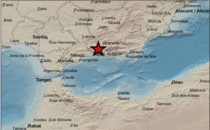 Terremoto de magnitud 2,9 con epicentro en Agrón