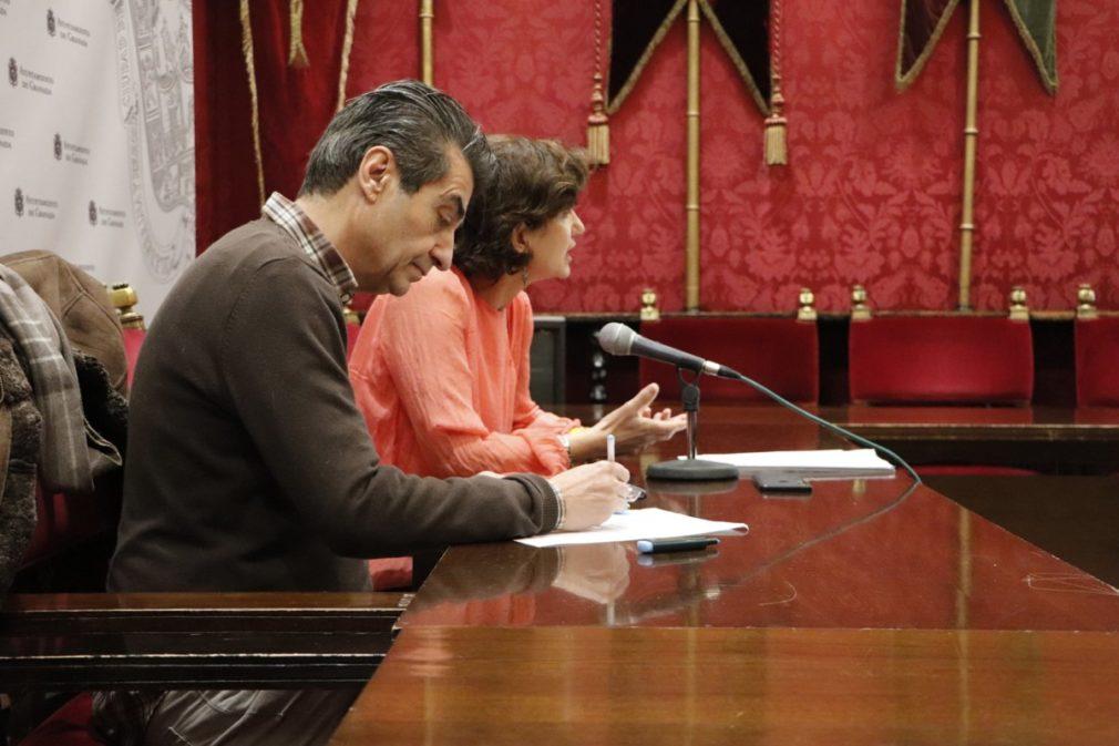 Antonio Cambril y Elisa Cabrerizo