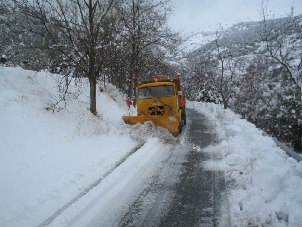 Carretera Nieve Granada1
