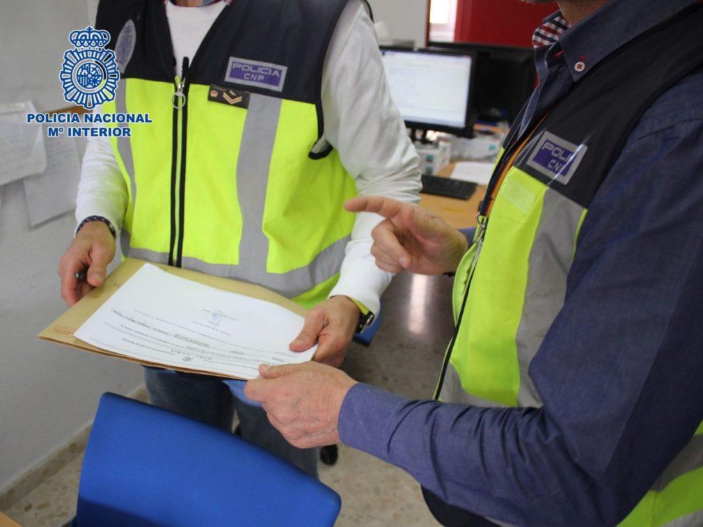 Granada.- Sucesos.- Detenido un supuesto abogado-gestor por realizar empadronamientos ilegales a extranjeros